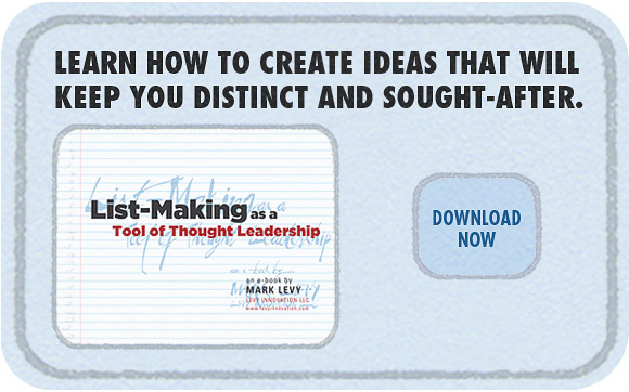 List-Making as a Tool of Thought Leadership